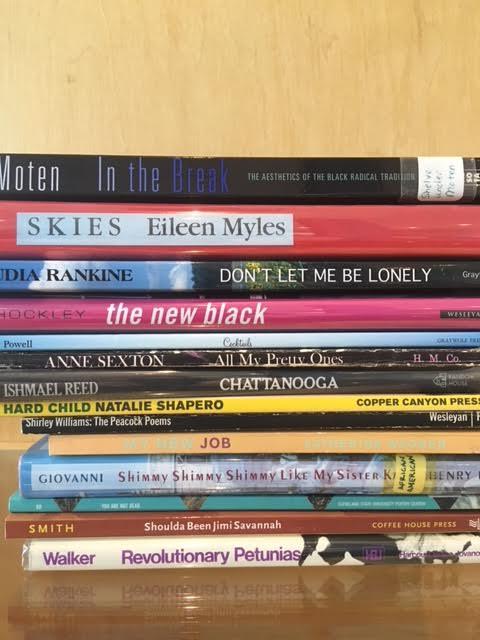 Morgan Parker's from the stacks picks, listed below