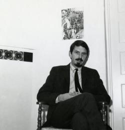 photo of poet Robert Creeley