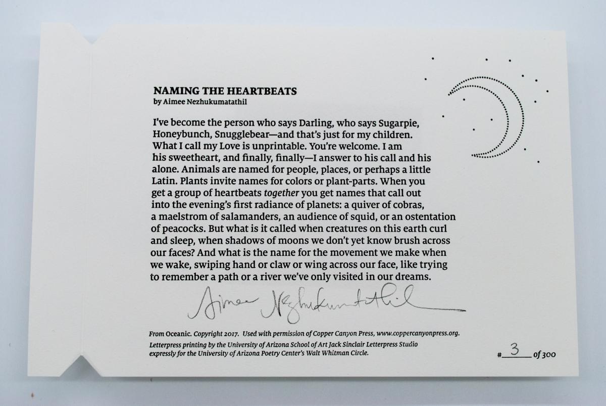 """Naming the Heartbeat"" by Aimee Nezhukumatahil"