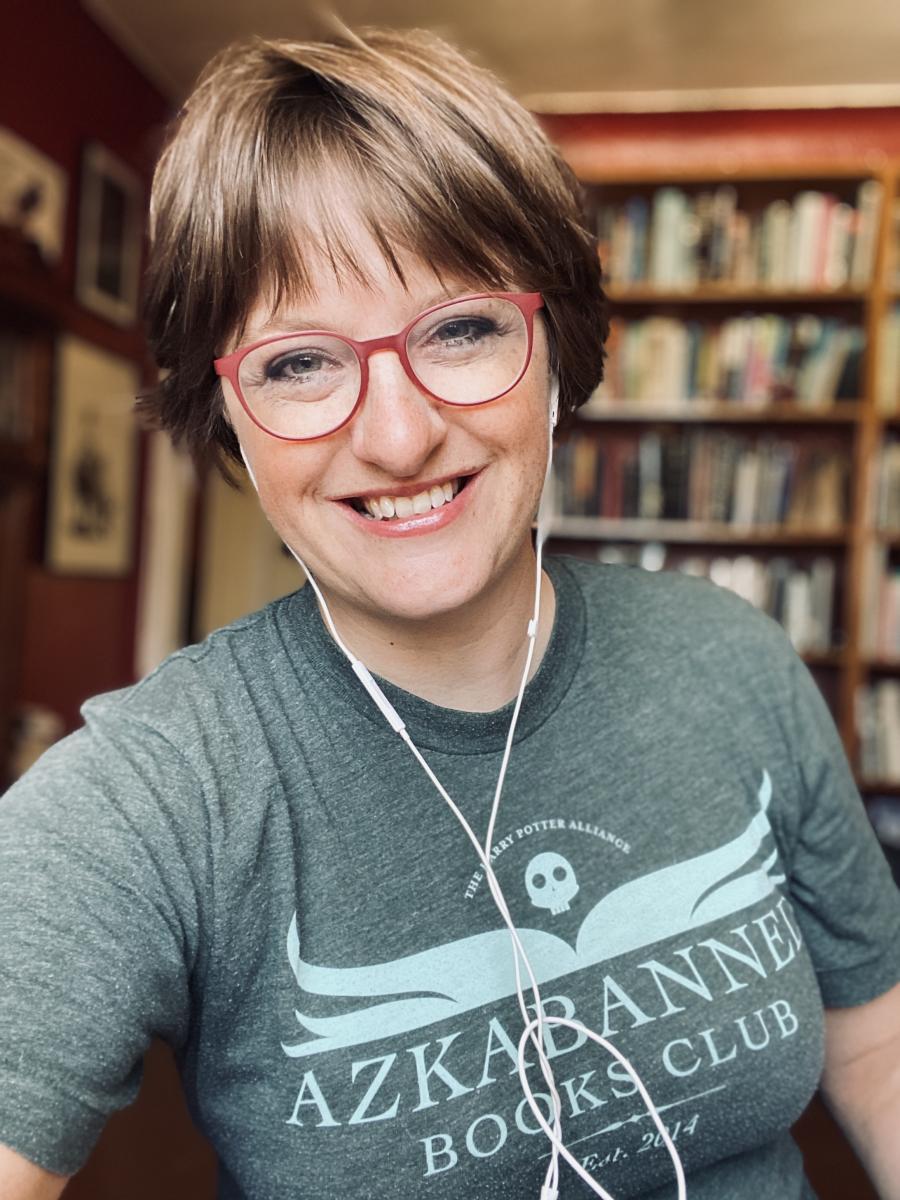 Photo of Sarah Kortemeier, Poetry Center Library Director
