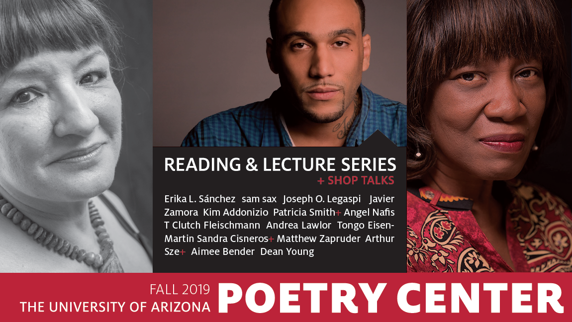 Announcing the Fall 2019 Reading & Lecture Series | Poetry