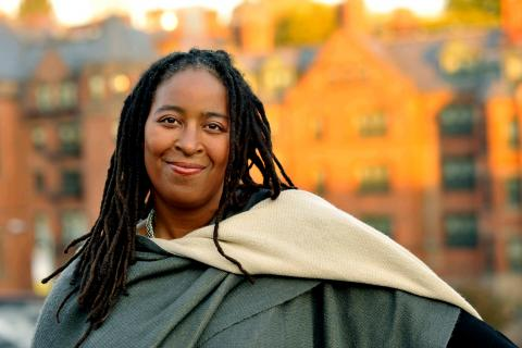 Photograph of Camille Dungy by Marcia Wilson