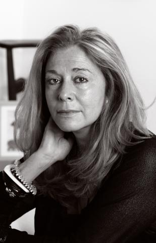Jorie Graham, photo by Didier Morel