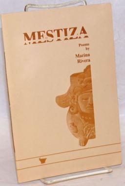 "cover image of chapbook ""Mestiza"" by Marina Rivera"