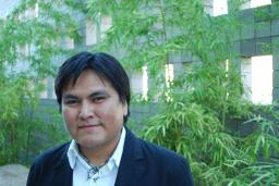Photo of Sherwin Bitsui by Rodney Phillips in 2010