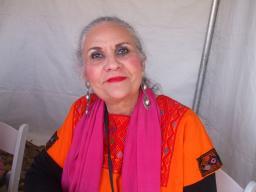 Photo of Denise Chávez by Daniel Zolinsky