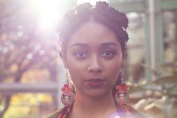 Portrait of Safia Elhillo
