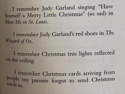 "Excerpt from Joe Brainard's poem ""I Remember"""