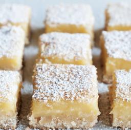 A picture of lemon bars