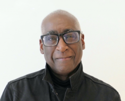 portrait of poet Michael Warr