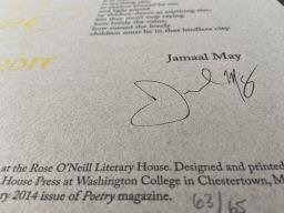 broadside by Jamaal May