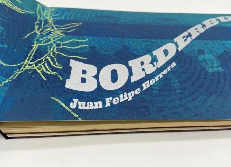 """Close up of Juan Felipe Herrera's """"Borderbus."""""""
