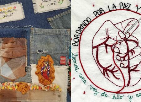 2017-2018 Migrant Quilt and Fuentes Rojas pañuelo