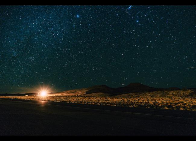 Flagstaff, AZ at night