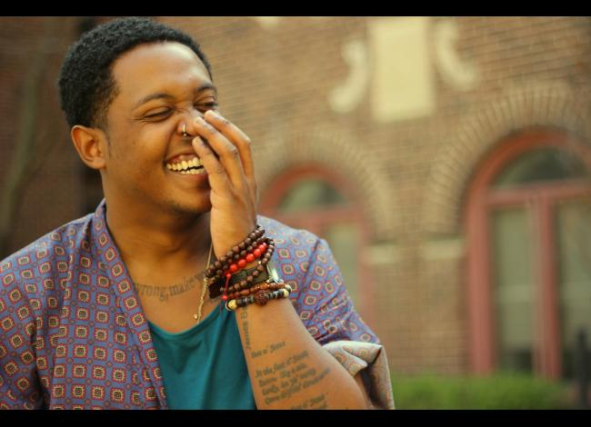 photo of Danez Smith by Hieu Minh Nguyen